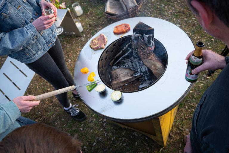 Rondo- Grill oder Feuerschale
